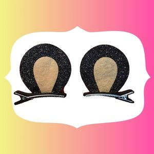 Other - Bear Ear Sparkle Barrettes